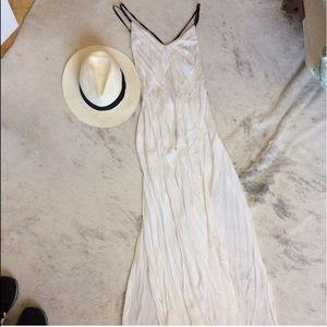 Free People White Maxi Dress